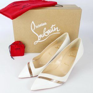 NEW Christian Louboutin 17th Floor Leather Pumps
